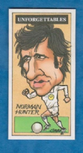 Leeds United Norman Hunter England (U)